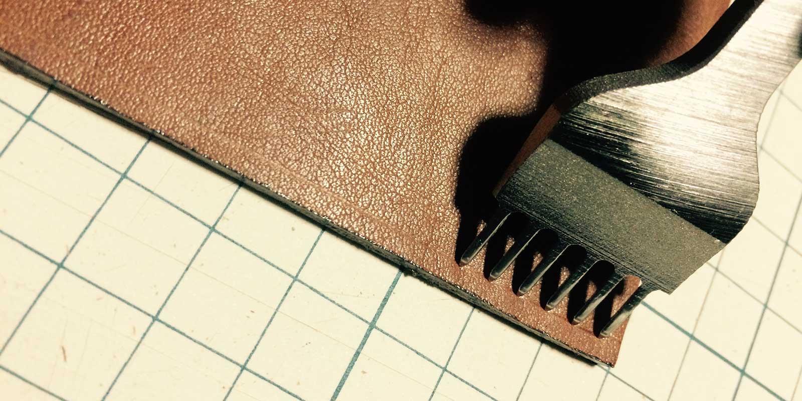 革製のKindleケースを自作してみた。